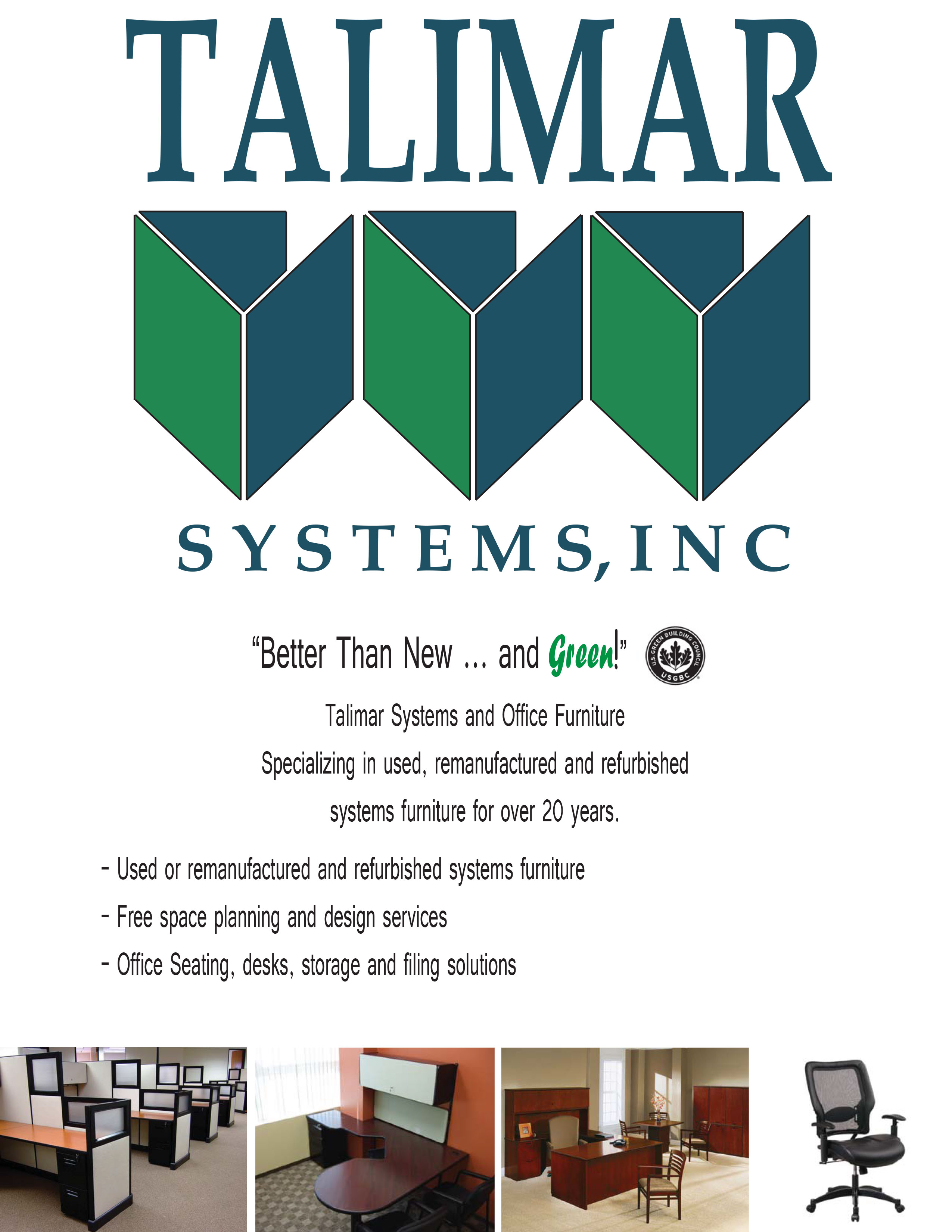 Talimar Systems | Re-Imagine Your Workspace