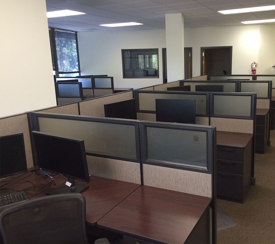 Used Cubicles 60 Less Money And Much Faster Too